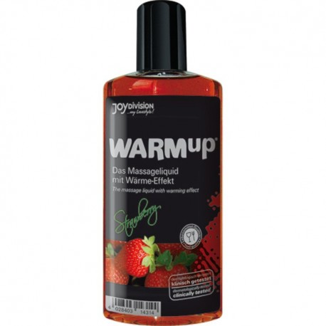 """Joydivision"" Lubrificante Effetto Calore Warm Up Gel alla Fragola 150 ml  lubrificante idrosolubile [14314]"
