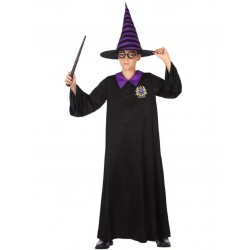 Cosplay Costume Mantello Mantella + Cappello Harry Potter CARNEVALE HALLOWEEN