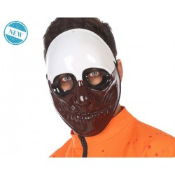 Maschera Horror PAYDAY 2 Lupo Halloween Carnevale Adulto FANCY DRESS COSPLAY MAN