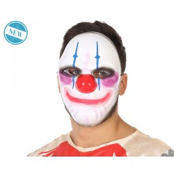 Maschera Horror PAYDAY 2 CATENE Halloween Clown Pagliaccio FANCY DRESS COSPLAY