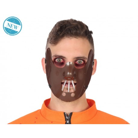 MASCHERA Hannibal Lecter HALLOWEEN PARTY ADULTO COSPLAY COSTUME CARNEVALE HORROR
