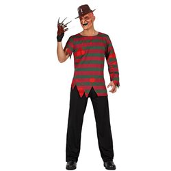 Costume uomo Freddy Krueger halloween carnevale mela proibita horror festa party
