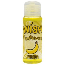 LUBRIFICANTE intimateline INTIMO WISH BANANA 50ML IDROSOLUBILE EROTICO LATEX HOT